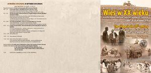 wieś, historia, XX w., polityka, gospodarka, kultura, ipn lublin